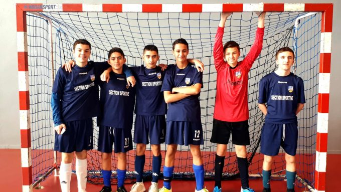 Félicitations à Benjamin, Mathis, Yanis, Zoheir, Abdelraouf et Noé !!!